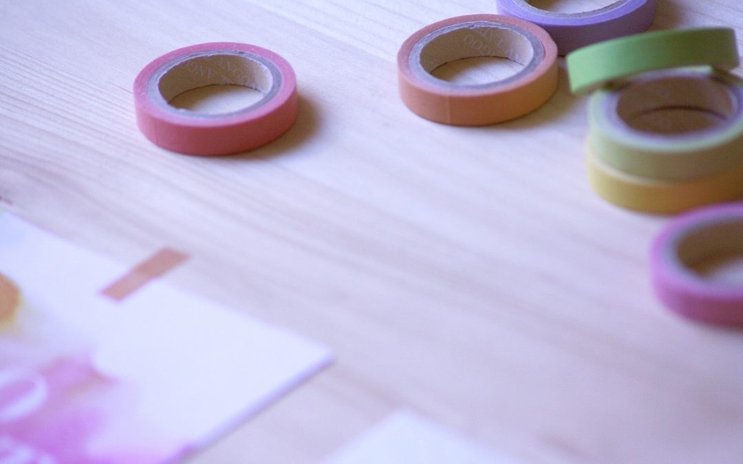 What is Washi Tape and How to Make a Washi Tape Sticky Gift